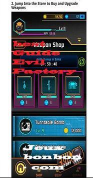 Tricks for Evil Factory screenshot 1
