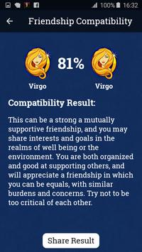 Friendship Compatibility Test - Zodiac Horoscope apk screenshot
