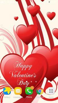 Valentines Day Live Wallpaper apk screenshot