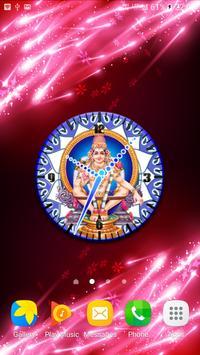 Ayyappa Clock Wallpaper poster