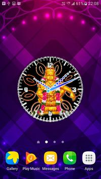 Ayyappa Clock Wallpaper apk screenshot