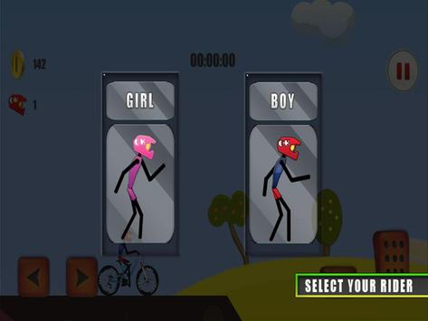 Crazy Mountain Bike Stunts Pro screenshot 16