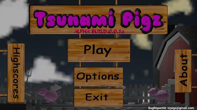 Tsunami Pigz poster