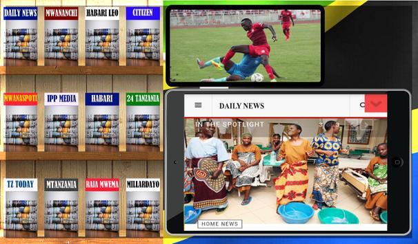 Tz News Reader-Habari Tanzania apk screenshot