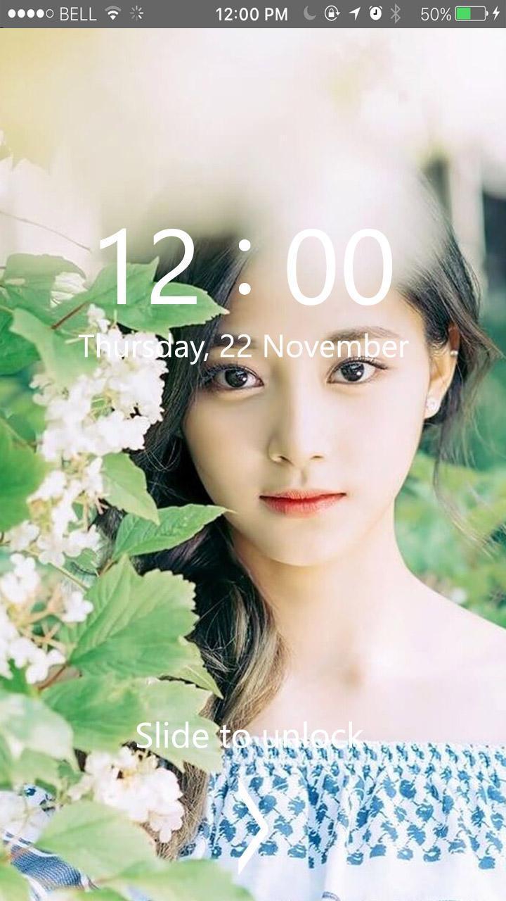Tzuyu Twice Kpop Lock Screen Hd Wallpaper For Android Apk