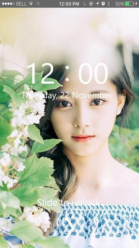 Tzuyu Twice Kpop Lock Screen Hd Wallpaper For Android Apk Download