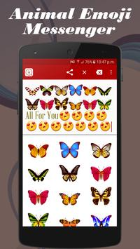 Animals Emoji Art Messenger apk screenshot