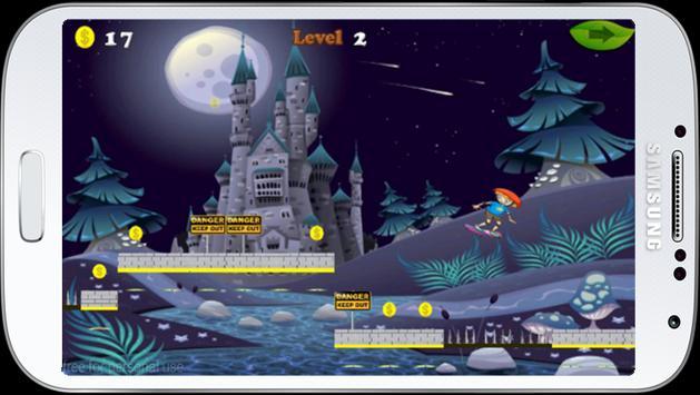 Jungle castle skate run screenshot 9
