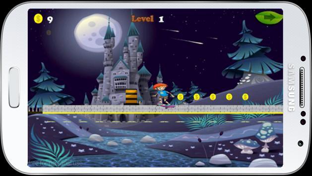 Jungle castle skate run screenshot 2