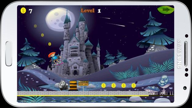 Jungle castle skate run screenshot 3