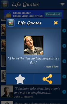 +1000 Quotes About Life apk screenshot
