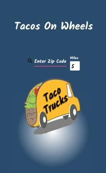 Tacos On Wheels poster