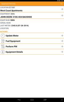 Equipment Field Entry screenshot 5