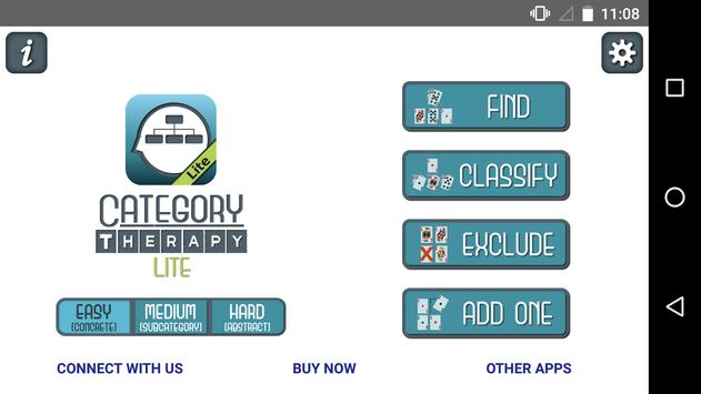 Category Therapy Lite poster