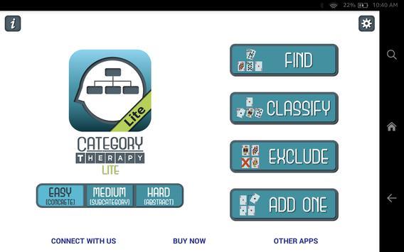 Category Therapy Lite apk screenshot