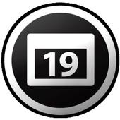 Week number widget icon