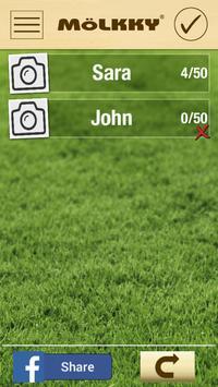 Mölkky Game Tracker apk screenshot