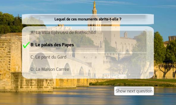 France Quiz Extension screenshot 1