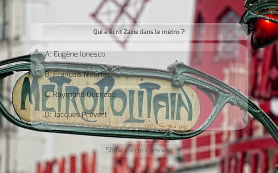 France Quiz Extension screenshot 8