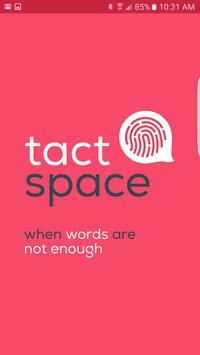 TactSpace poster
