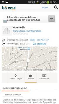 Tá Aqui.com apk screenshot