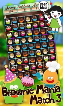 Brownie Mania Match 3 apk screenshot