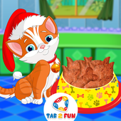 Kitty Food Maker Cooking Games 2017 icon