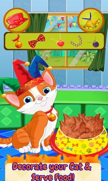 Kitty Food Maker Cooking Games 2017 apk screenshot