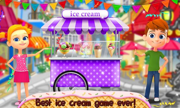 Ice Cream - Kids Cooking Game poster