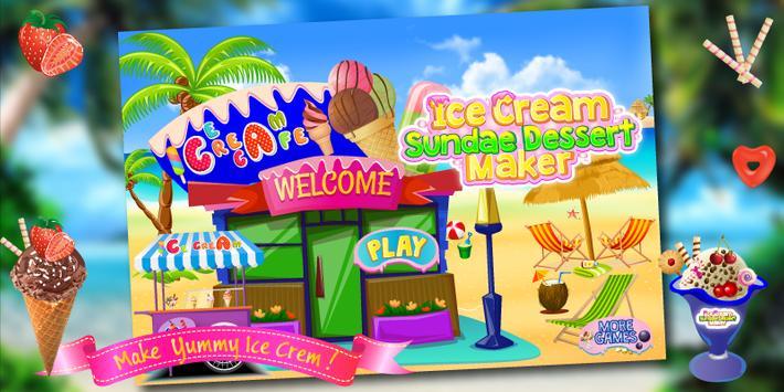 Ice Cream Cooking Kids Game screenshot 5