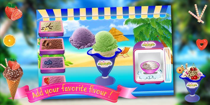 Ice Cream Cooking Kids Game apk screenshot