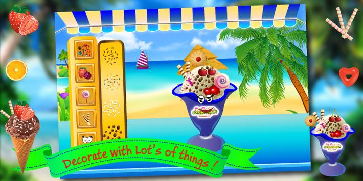 Ice Cream Cooking Kids Game screenshot 14