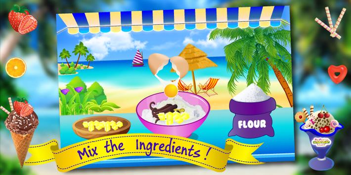 Ice Cream Cooking Kids Game screenshot 1