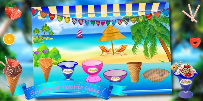 Ice Cream Cooking Kids Game screenshot 2