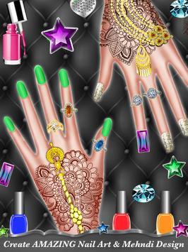 Muslim Hijab Makeover And Hand Art screenshot 2