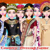 WORLD FASHION Tour Girl Dressup-All Country Dress icon