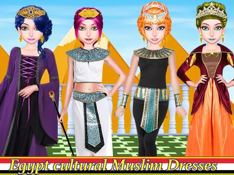 WORLD FASHION Tour Girl Dressup-All Country Dress screenshot 18