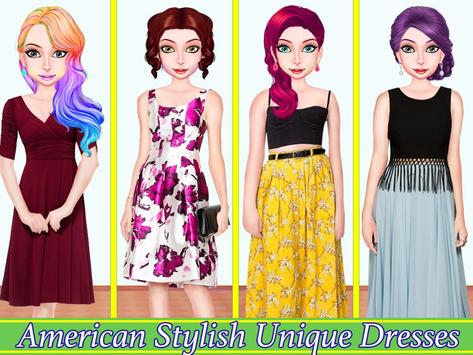 WORLD FASHION Tour Girl Dressup-All Country Dress screenshot 5