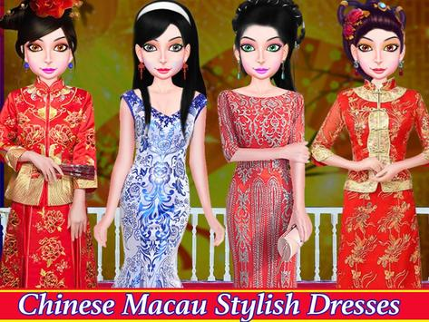 WORLD FASHION Tour Girl Dressup-All Country Dress screenshot 6