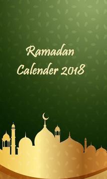 Ramadan Calendar poster