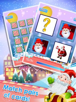 Merry Christmas Game : Memory Match Puzzle screenshot 1