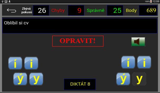 Čj-diktáty pro 3. roč. ZŠ apk screenshot