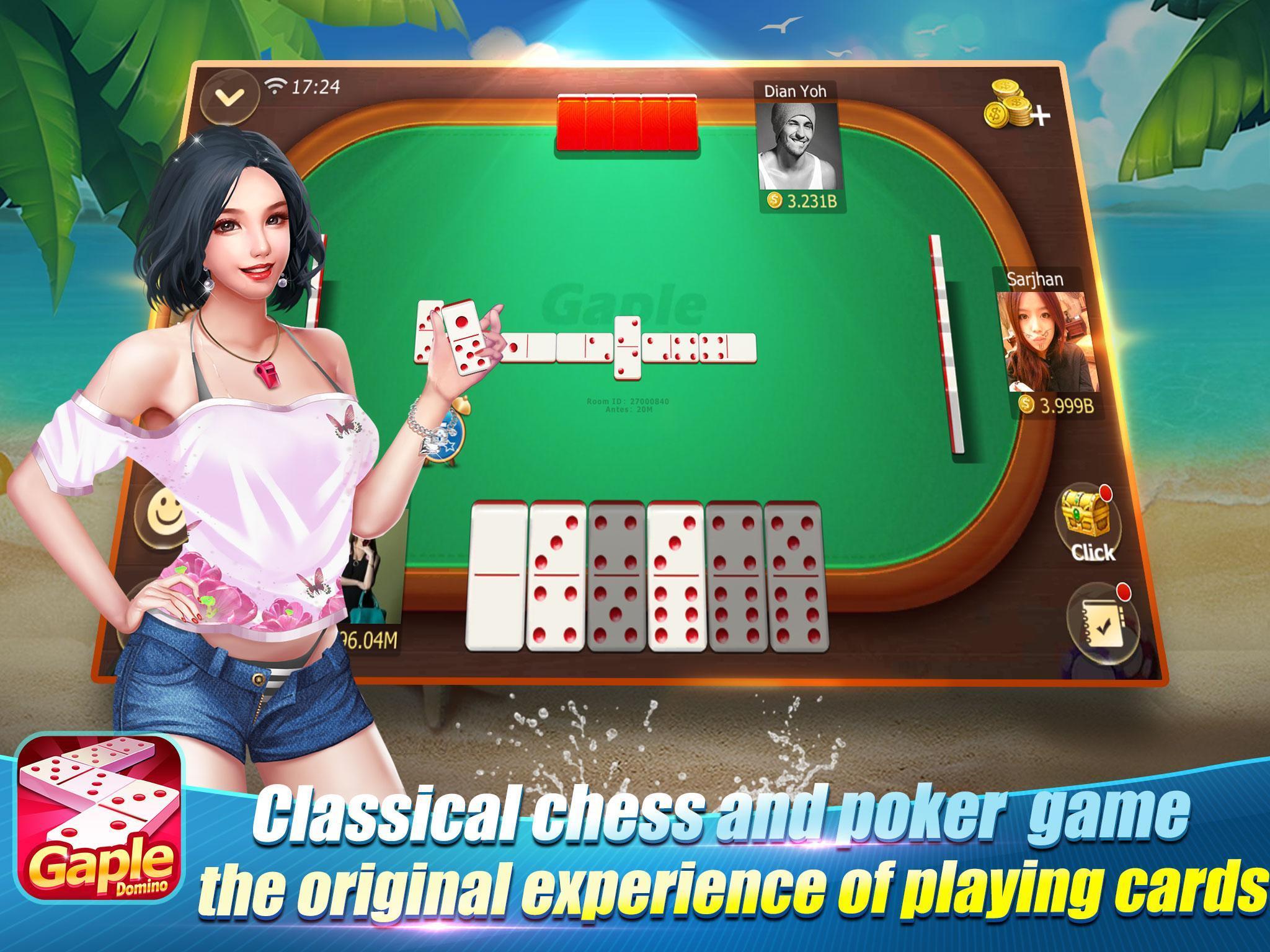 Domino Gaple 99 Qq Qiu Qiu Kiu Kiu Free Online For Android Apk Download