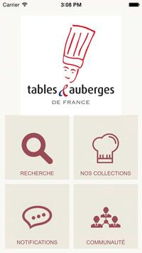 Tables et Auberges de France poster