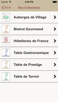 Tables et Auberges de France apk screenshot