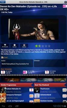 Whats On India a tv guide Tablet app for Android - APK Download