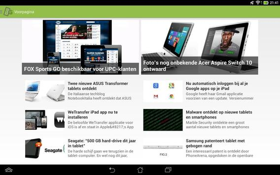 TabletGuide apk screenshot