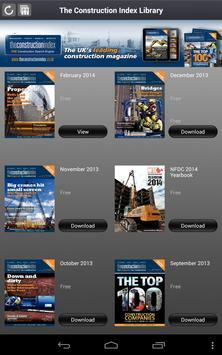 Construction Index Magazine apk screenshot