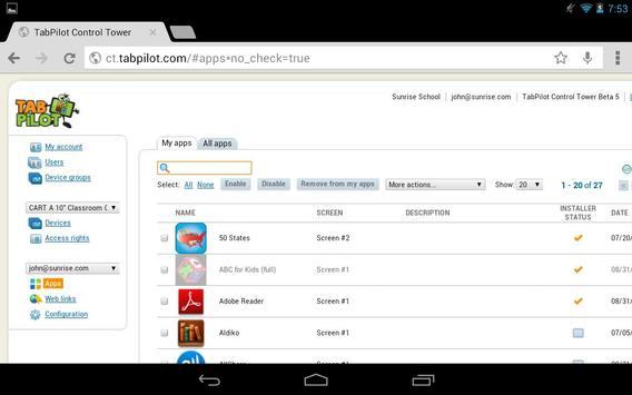 TabPilot MDM screenshot 5