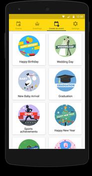 Tabrier - video greetings apk screenshot